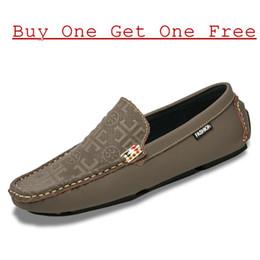 Wholesale Yellow Kitten Heels Wedding - Fashion Men Loafer Handmade tailored Mens Flat Dress Shoes 100% Genuine Leather Waterproof Men Casual Shoes Free Shipping