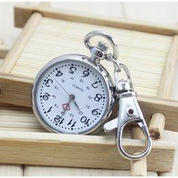 Wholesale Numbers Test - No Waterproof Watches elderly Clear Large Numbers Pocket Watches Keys Holders Student Tests Nurse