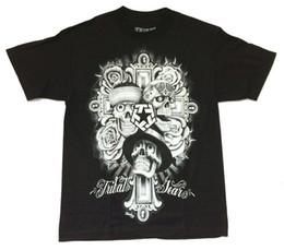 Maglietta del cranio dei ragazzi neri online-Maglietta Tribal Gear Mouse Lopez Skulls Black Maglietta New Mens ufficiale Streatwear Uomo / Ragazzo T-Shirt Print T Shirt Mens Short