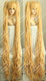 Лезвие душа босс Pohwaran длинные волнистые блондинка косплей партия полный парик клип хвост от