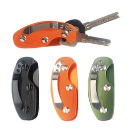 Wholesale Voiture Smart Key Porte monnaie Fonction Chaîne En Métal Anneau Collecteur Zipper Hommes Femmes Cas Sac Ménagère Clés Organisateur Porte clés