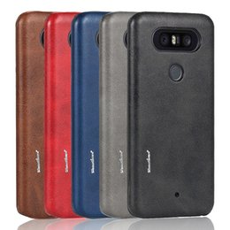 Wholesale Leather Case Q8 - For LG Q8 Cover For LG Q8 Business Case For LG Q8 Case High Quality PU Leather Case Back Cover