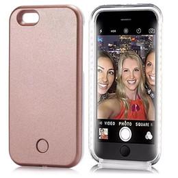 2020 leuchten telefonhörer iphone plus Fall für iPhone 7 6 6 S Plus 5 Flash Selfie Leuchten Leuchtenden Telefon Fall Für Apple iPhone 6 s 7 s plus Abdeckung günstig leuchten telefonhörer iphone plus