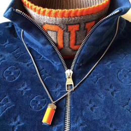 Chaqueta de terciopelo de los hombres online-Prendas de vestir exteriores de la chaqueta de terciopelo 18FW chaqueta del béisbol Negro Hombres Mujeres Pareja Soprts chaqueta Hip Hop TOP HFLSJK240