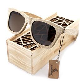 BOBO VOGEL Neue Mode Handgefertigte Holz Holz Sonnenbrille Nettes Design für Männer Frauen gafas de sol steampunk Kühlen Sonnenbrille BS04 von Fabrikanten