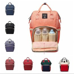 Wholesale Moms Cartoons - Mommy Nappy Bags Mommy Backpacks Mom Nappies Bags Mother Backpack Diaper Maternity Backpacks Nursing Outdoor Travel Bag 10 Colors OOA4084