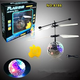 Wholesale Great Flying - RC Flying Ball Drone Helicopter Ball Built-in Shinning LED Lighting for Kids Teenagers Colorful Flyings great