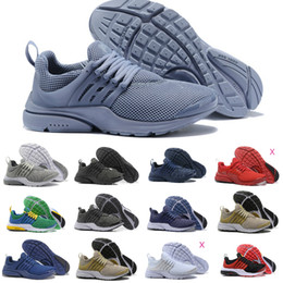 on sale 1449d ac7b9 2018 Nike Air Presto airmax Off White Prestos shoes New presto 5 BR QS Tp Breathe  Schwarz Weiß Gelb Rot Herrenschuhe air prestos fliege Turnschuhe Frauen ...