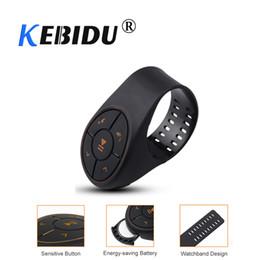 Kit bluetooth para volante online-kebidu Wirless Receptor Bluetooth Kit de coche Tipo de cadena Juego de música para la instalación de la palanca del volante Uso de la batería del botón CR2032