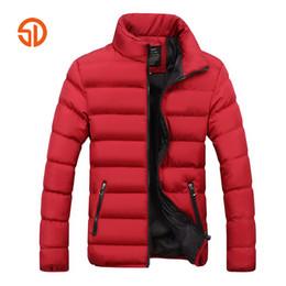 fe4fc348430 Fashion Men Autumn Winter Jackets Mens Plus Size XXXXL Casual Male Parka  Jacket Coat Black Blue Red 6 Colors M-4XL