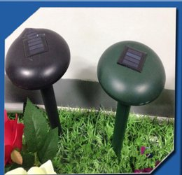 Wholesale Gardening Pests - Solar Mole Repeller Garden Yard New Useful Solar Power Eco-Friendly Mole Snake Mouse Pest Reject Repeller Control KKA4350