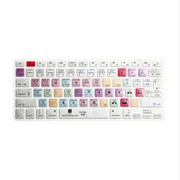 "Wholesale macbook keyboard uk - US EU UK Layout Keyboard Cover Shortcut Printed Cover Skin for MacBook Air Pro Retina 13"" 15"" 17"" iMac Wireless & MacBooks"