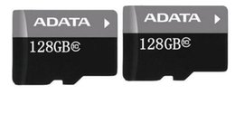 Wholesale Micro Sd Tablet - ADATA 128GB 128G Micro SD Memory Card SD Adapter Blister Package Class 10 TF Card for Android Smart Phones Tablet PCs NetBooks DHL Free