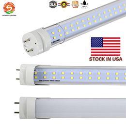 Tubi luminosi online-Stock negli Stati Uniti + tubo led 4ft 22W 28W bianco freddo caldo 1200mm 4ft SMD2835 96pcs 192pcs lampadine fluorescenti a led super luminose AC85-265V UL