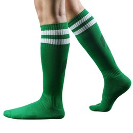 Wholesale Long Striped Socks For Men - Wholesale- Excellent male socks for Men Striped long Socks Striped Socks High knee good quality top sale
