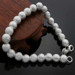 b822a331e62d 2019 schmuck mode italien 925 Sterling Silber Armband Für Frauen Männer, 925  Modeschmuck 8mm Perlen