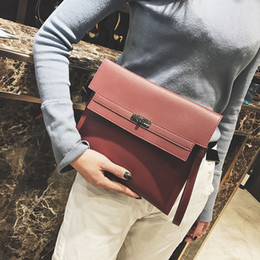 Wholesale red envelope clutch - Hot Brand Design Clutch Bag New Womens Purse Sequin Woman Bag Large Capacity Leather Material Designer Briefcase Women Wallet