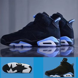 Wholesale Dog Massages - Hot dog air retro 6 UNC Men Basketball Shoes black six blue high quality win VR sport shoes Sneakers going highest