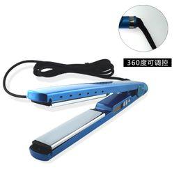 Wholesale Titanium China Hair Straightener - straightener Nano Titanium Plates Straightener Hair Iron hair flat iron U Style from factory lowest price