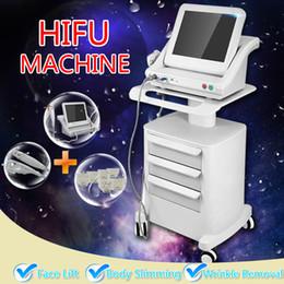 Wholesale Model Lifts - 2018 New Model Medical Grade HIFU High Intensity Focused Ultrasound (HIFU With 5 cartridges)Hifu Face Lifting Hifu Machine For Face And Body