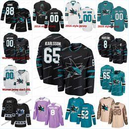 sharks jerseys new 2019 - New Season San Jose Sharks 73 Noah Gregor 48  Tomas Hertl 19ba39b4f