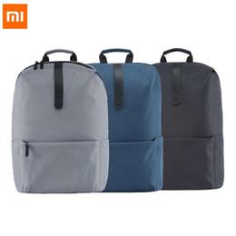 096bc4388110b xiaomi rucksack Rabatt Xiaomi Outdoor Rucksack Trendy Plaid wasserdicht  Schul Laptop Rucksack Sporttaschen für Camping Klettern