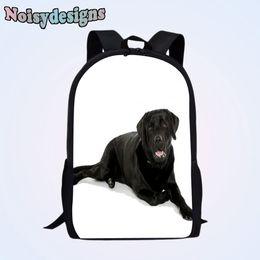 NOISYDESIGNS Kawaii Dog Children School Bags Backpack for Boys Girls  Students Book Bag Labrador Pattern Animal Printed Teenager e7ae890425c7b