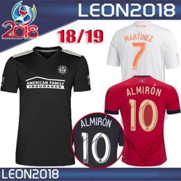 Wholesale atlanta homes - MLS Atlanta United jersey 2018 2019 Thai quality home ALMIRON MARTINEZ soccer jersey 18 19 VILLALBA Atlanta BARCO away football shirts