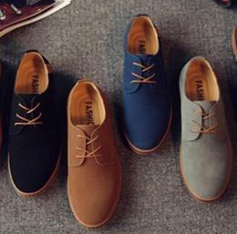 Wholesale elegant oxford shoes - Herenschoenen Elegant Shoes Men Oxfords Dress Shoes Genuine Leather Cow Suede Plus Size Derby Prom Formal work Shoes nx41