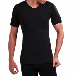 2ea3bc5f2a355 Men s Thermal Body Shaper Slimming Shirt Slim Men Shaper Vest Shirt Corset  Underwear fat belly Slimming Compression Body