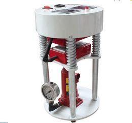 """Wholesale Semi Automatic Heat Press Machine - 14000PSI 5 Tons Pressure Hydraulic Rosin Press 3""""x5"""" (6x12cm )Oil Press LCD display controller Dual Element Heat Press Machine LLFA"""