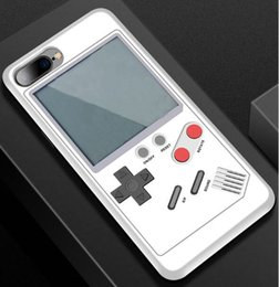 Wholesale Play Consoles - 2018 Retro Game console Phone Cases Play Game Console Cover Shockproof Protection Case For iPhone X 8 7 6 Plus With Retail package mini