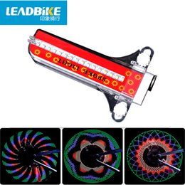 Wholesale Tires For Bike Road - Leadbike Colorful 32 Leds Patterns Bicycle Wheels Signal Tire Lights for Cycling MTB Road Kids Bike Spoke Flash Rear Tail Light