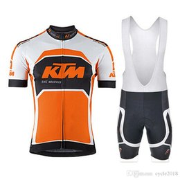 KTM Tour de France pro team Short Sleeve Cycling jersey set MTB bicycle  Summer Cycling Clothing Ropa Ciclismo + bib shorts 9D gel pad 811a9ce53