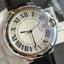 Calidad AAA Gran Marca de Lujo Relojes Suizo Movimiento de Cuarzo Relojes de Cuero Ultra-delgado Correa de Reloj Precio de Descuento El Mejor Regalo desde fabricantes