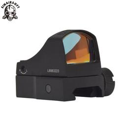 visão docter Desconto SINAIRSOFT Docter Sight Red Dot Rifle Scope Micro pistola Ponto Reflex Holográfica Dot Sight Óptica Escopos de Caça Airsoft Rifle Mini Sights
