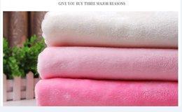 B [Fabrika Doğrudan] çift taraflı pazen süper yumuşak kumaş battaniye bebek pijama ev örme kumaş giymek nereden bebekler için battaniyeler tedarikçiler