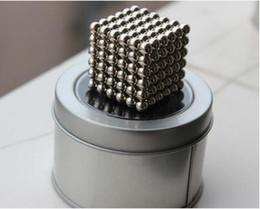 Wholesale Neodymium Balls - Creative 3mm 216pcs Magnetic Neodymium Balls Magic Puzzle Cube Best Gift for Kids Party Favor Toys 216pcs set