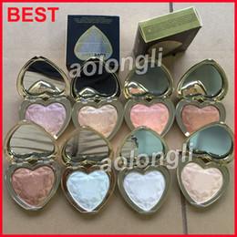 Wholesale makeup palette mix - Best Love Light Prismatic Highlighter bronzer Makeup faced Glow palette 8 Colors Pressed Powder highlighter palette free DHL