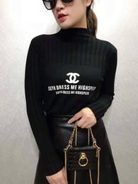 0be78fe1f975 2019 marchio di lusso donne maglione donna bb alta elastico solido maglione  dolcevita canale donne attillati che basa maglione lavorato a maglia Louis