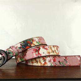 Wholesale Boys Cowboy Belt - Wild personality Men's belt tiger head pattern metal buckle strap male 100% genuine leather designer belt western cowboy style belt gif