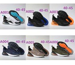Wholesale 36 D - 2017 High Quality 270 mans training sneakers 2018 Running Shoes for Unisex walking fashion Athletic Shoes size 36-45