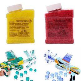 Wholesale Bullet For Toy Gun - 20000pcs Soft Crystal Water Paintball Bullets Gun Bullet Growing Crystal Water Balls Soil Air Water Gun Toys for Kids CCA9017 100pcs