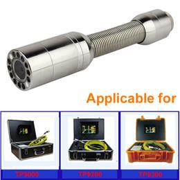Testa telecamera 23MM per sistema video serpente ispezione tubo fognario TP 9200 TP9000 TP9300 supplier sewer pipe inspection camera system da impianto di ispezione del tubo di fogna fornitori