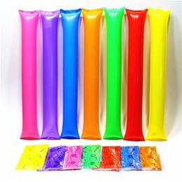 battaglie Sconti Gonfiabile bastone colorato combattente riutilizzabili rifornimenti di partito Tifo appeso pieghevole puntelli creativi di plastica di alta qualità durevole 0 16my ff