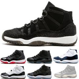 purchase cheap f644f b43b7 Kappe und Kleid 11 Männer Prom Night Platinum Tint Gym Rot Bred PRM Erbin  Navy Gum Frauen 11S XI Basketball-Schuhe Cool Grey Sports Sneakers rabatt  ...