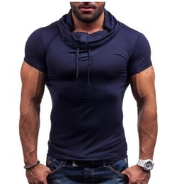 Wholesale t thermal - 2017 New Fashion Masculina Men Fitness Short Sleeve t shirt Homme Thermal Muscle Bodybuilding Compression Tights Tee shirt XXL