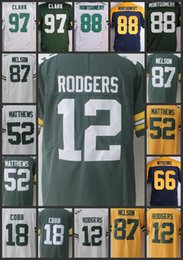 Wholesale packers green - Men Greens Bays Limited Woman's Jersey Packer #12 Aaron Rodgers 18 Randall Cobb 52 Clay Matthews 87 Jordy Nelson youth Jerseys