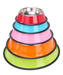 Wholesale Outdoor Dog Water Fountain - Dog Bowl Travel Pet Dry Food Cat Bowls for Dogs Pink Dog Bowls Outdoor Drinking Water Fountain Pet Dog Dish Feeder Goods