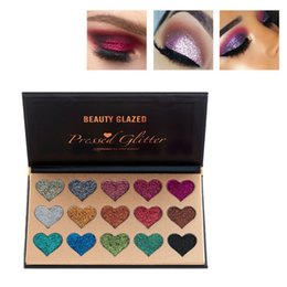 15 couleurs paillettes métalliques longue tenue maquillage palettes de fard à paupières pressées Charming Shinning Shimmer Palette de fard à paupières2018R7 ? partir de fabricateur